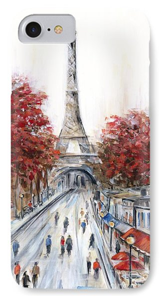 Paris In The Fall IPhone Case