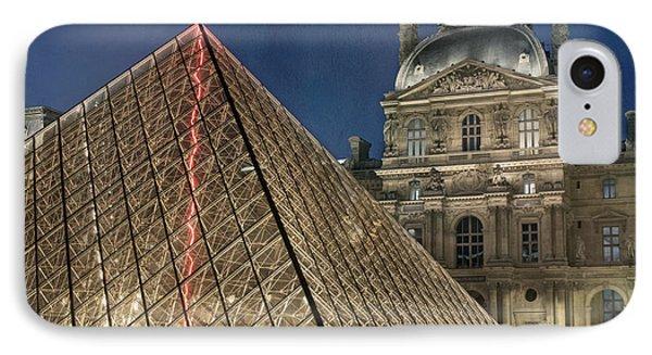 Paris Louvre IPhone Case by Juli Scalzi