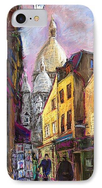 Paris Montmartre 2 IPhone Case