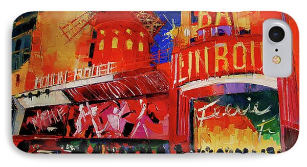 Paris Nights By Mona Edulesco IPhone Case by Mona Edulesco