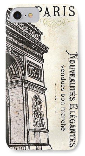 Paris, Ooh La La 2 IPhone Case