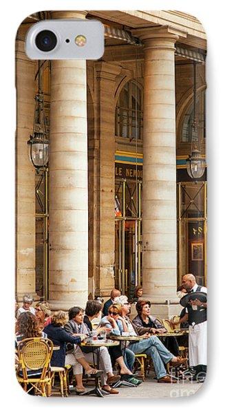 Paris Outdoor Cafe IPhone Case by Brian Jannsen