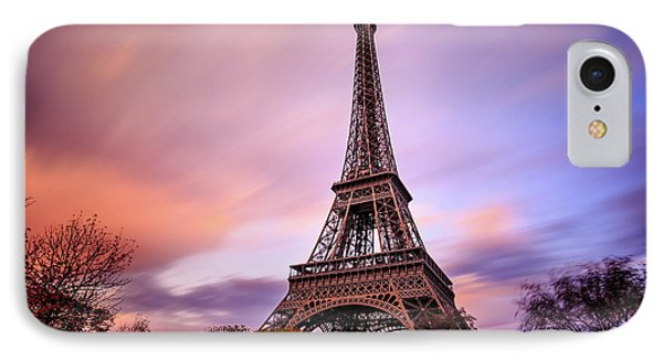 IPhone Case featuring the photograph Paris Pastels by Jennifer Casey