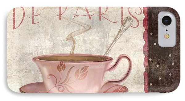 Paris Patisserie Cafe De Paris IPhone Case by Mindy Sommers