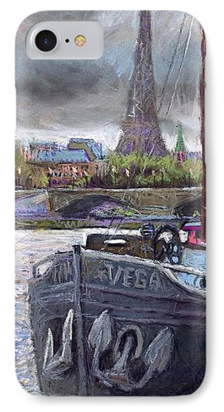 Paris Pont Alexandre IIi IPhone Case by Yuriy  Shevchuk