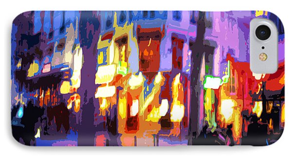 Paris Quartier Latin 02 Phone Case by Yuriy  Shevchuk