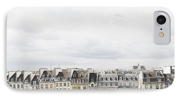 Paris Rooftops View From Centre Pompidou IPhone Case