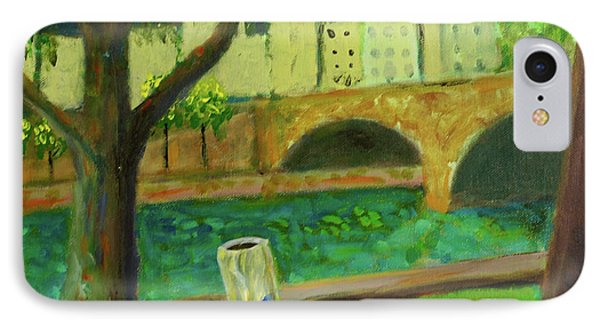 IPhone Case featuring the painting Paris Rubbish by Paul McKey
