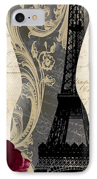 Paris Seamstress II IPhone Case by Mindy Sommers