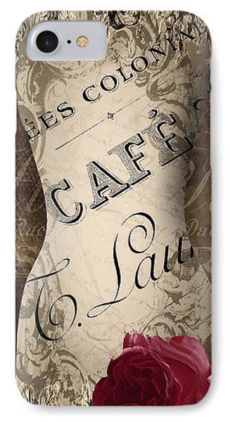 Paris Seamstress Iv IPhone Case by Mindy Sommers