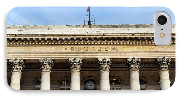 Paris Stock Exchange IPhone Case