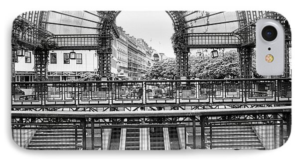 IPhone Case featuring the photograph Paris Subway Station by Dave Beckerman