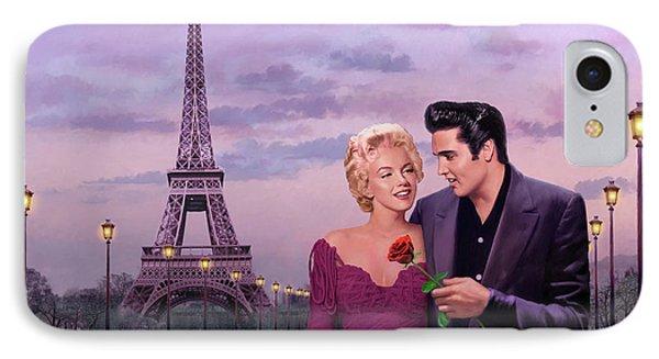 Paris Sunset IPhone Case by Chris Consani