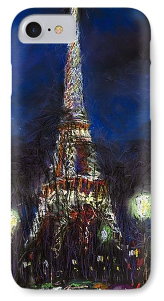 Paris Tour Eiffel IPhone Case by Yuriy  Shevchuk