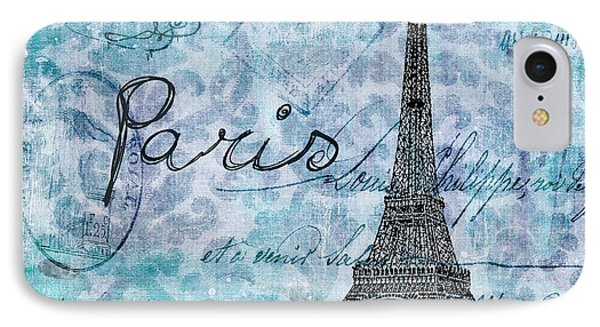 Paris - V01t01a IPhone Case