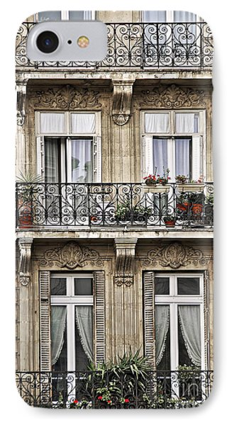Paris Windows IPhone Case by Elena Elisseeva