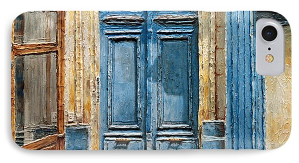 Parisian Door No.36 IPhone Case