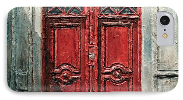 Parisian Door No.9 IPhone Case