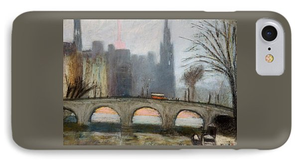 IPhone Case featuring the painting Parisian Gray by Gary Coleman