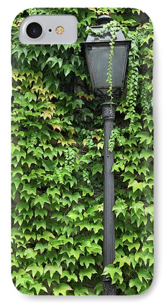 Parisian Lamp And Ivy IPhone Case
