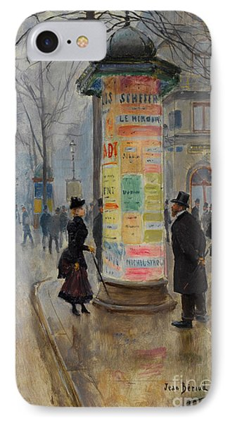 IPhone Case featuring the photograph Parisian Street Scene by John Stephens
