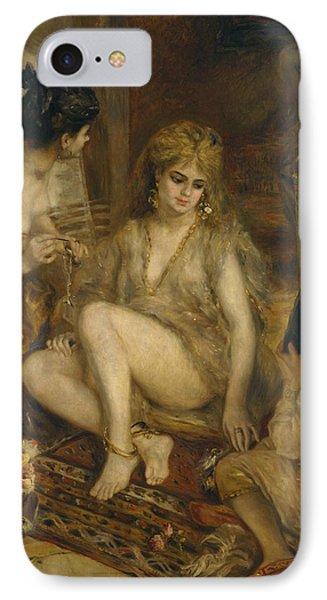 Parisiennes In Algerian Costume Or Harem IPhone Case by Auguste Renoir