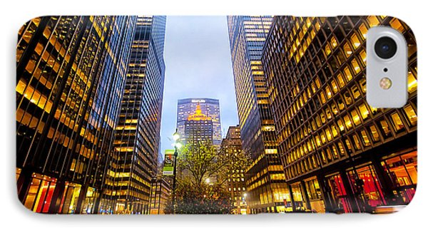 Park Avenue Nyc Phone Case by Svetlana Sewell