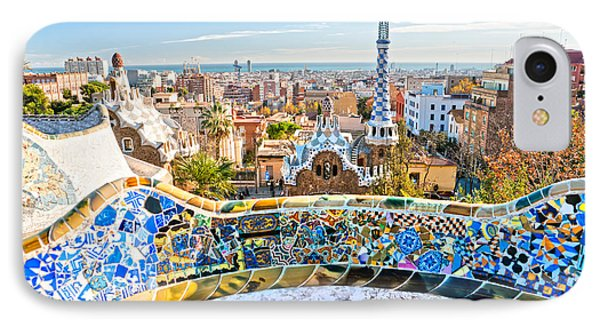 Park Guell Barcelona IPhone Case