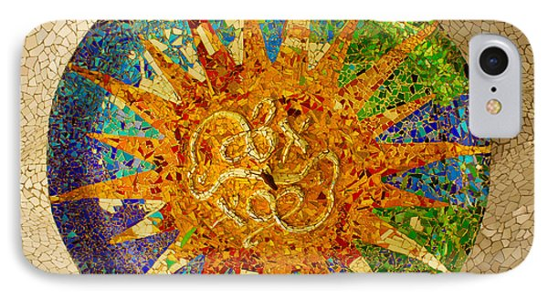 park Guell, Barcelona, Spain IPhone Case by Anastasy Yarmolovich