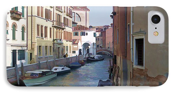 IPhone Case featuring the photograph Parked In Venice by Roberta Byram