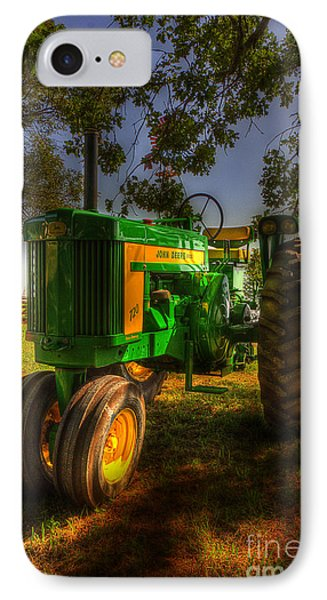 Parked John Deere IPhone Case by Michael Eingle