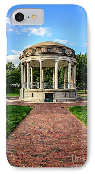 Parkman Bandstand At Boston Common IPhone Case by Paul Velgos