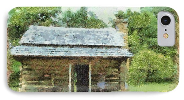 Parkway Cabin Phone Case by Paulette B Wright