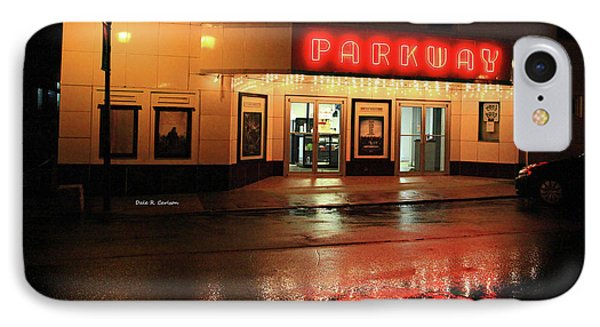 Parkway Night IPhone Case by Dale R Carlson