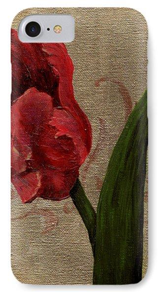 Parrot Tulip I IPhone Case by April Moen