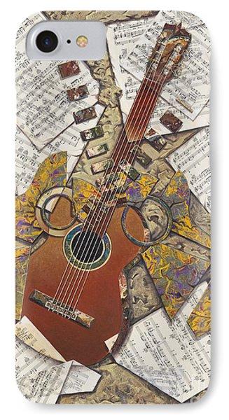 Partituras IPhone Case by Ricardo Chavez-Mendez