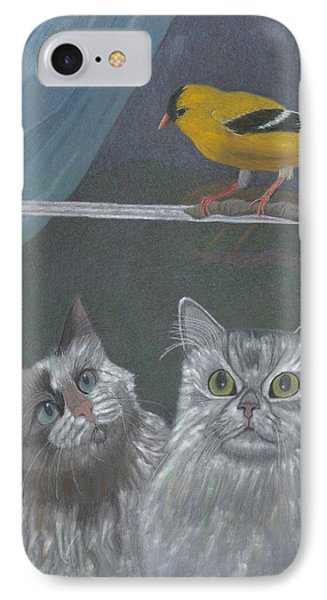 Partners In Crime IPhone Case by Arlene Crafton