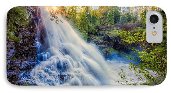 IPhone Case featuring the photograph Partridge Falls In Late Afternoon by Rikk Flohr