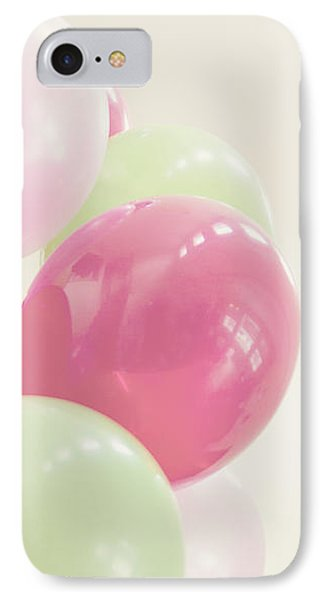 Party Balloons IPhone Case by Cindy Garber Iverson
