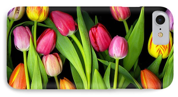 Tulips IPhone Case by Christian Slanec