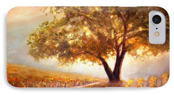 Paso Robles Golden Oak IPhone Case by Michael Rock
