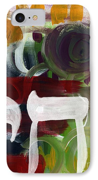Passages 2- Abstract Art By Linda Woods IPhone Case by Linda Woods
