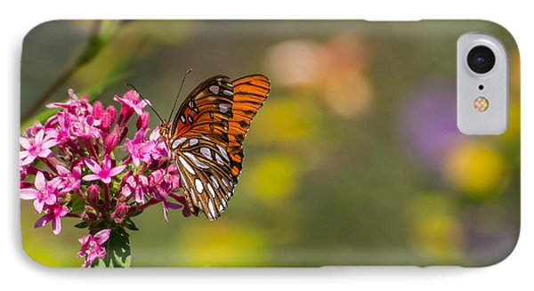 IPhone Case featuring the photograph Passion Butterfly  by Julie Andel