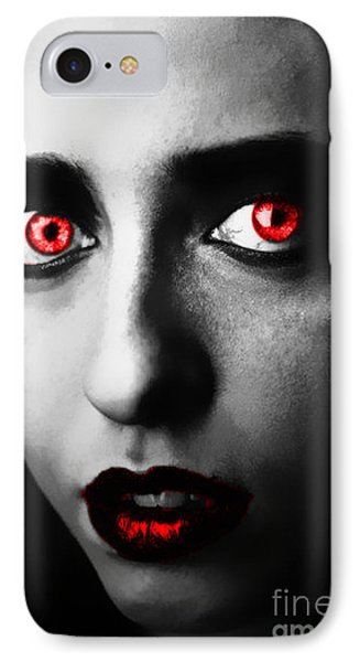 IPhone Case featuring the painting Passion Glare by Tbone Oliver