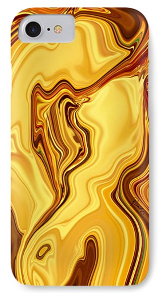 Passion IPhone Case by Rabi Khan