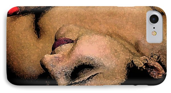 Passion. IPhone Case by Shlomo Zangilevitch