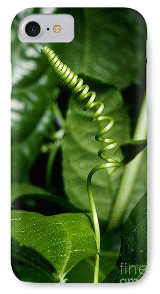 Passionflower Tendrils IPhone Case by John Kaprielian