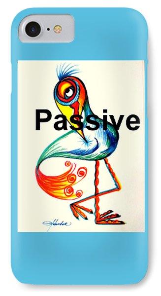 Passive Taino Bird IPhone Case