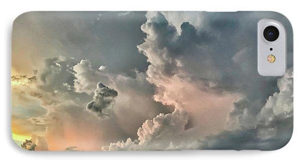 Pastel Clouds IPhone Case by Walt Foegelle