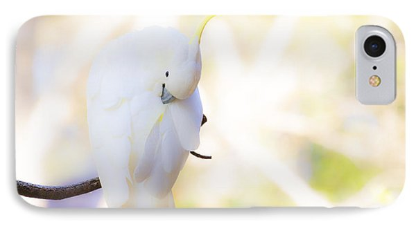 Pastel Cockatoo Phone Case by Avalon Fine Art Photography